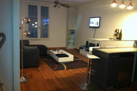 grand studio hyper centre tout équipé - Tours - Appartement