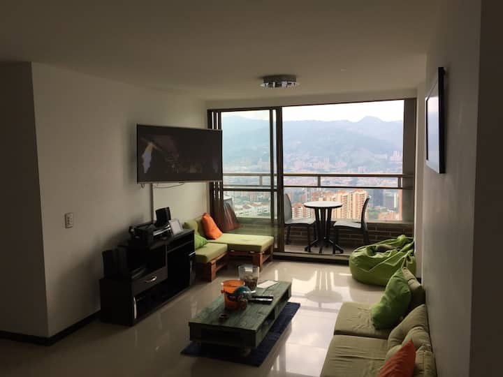 Room with excellent view and location