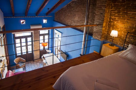 Blue house, beach. La casa Azul - València - Appartement