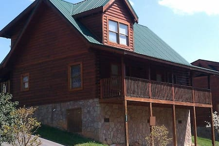 Near it All! Blackberry Ridge Cabin - Pigeon Forge - Cabane