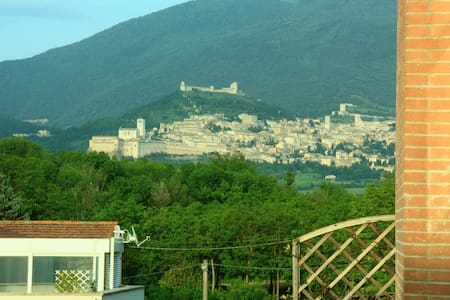 B&B La gatta Ciotolina vista Assisi - Bastia Umbra - Byt