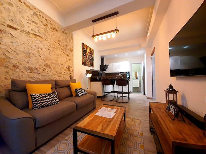 MAGNIFIQUE appartement en COEUR DE VILLE