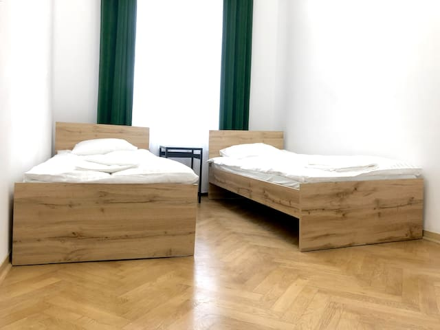 Very center of Cracow! Nice and tidy room.