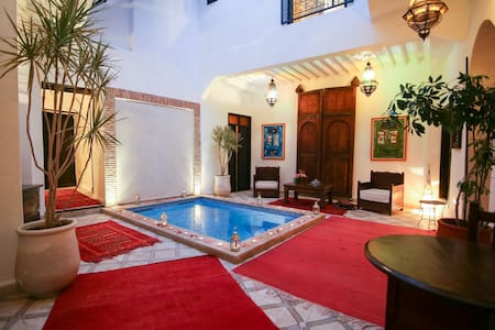 EN EXCLUSIVITE UNIQUEMENT:  RIAD VILLAMOUASSINE - Marrakech - Hus