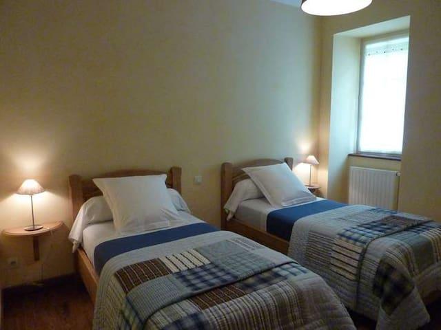 """Chambre """"Bleue"""" de 13 m²"""