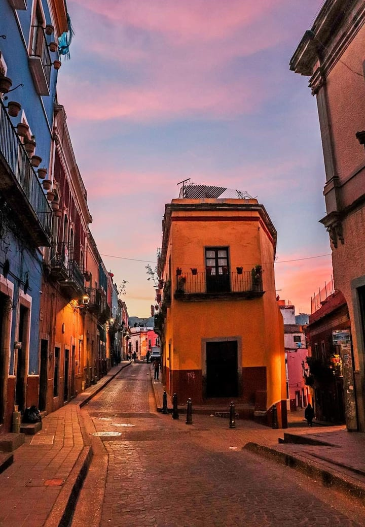 Loft para 2 personas Centro de Guanajuato / 2-105