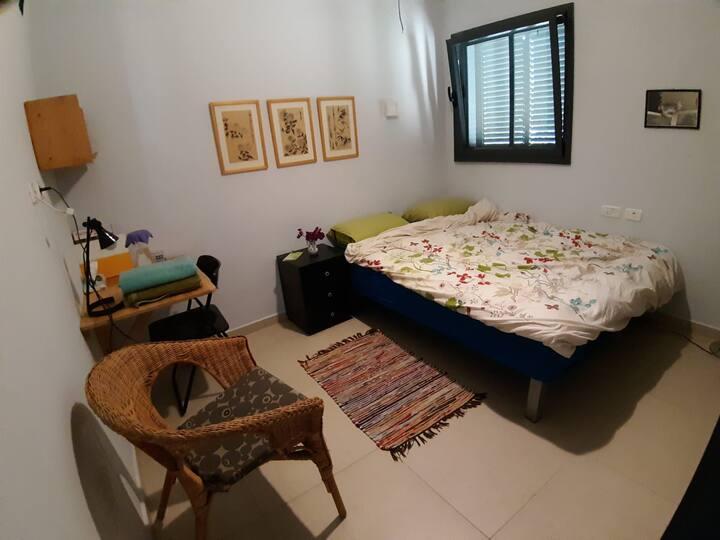 A Cosy Room in a Northen Kibbutz