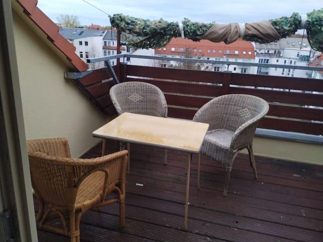 Aparment with rooftop - Wohnung mit Dachterasse