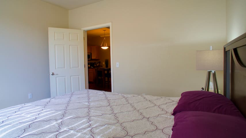 Bedroom - Soft, Bright, + Cozy!