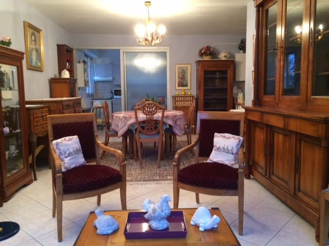 Appartement entier meublé (64 m2)T2 - Bois-Guillaume - Apartamento