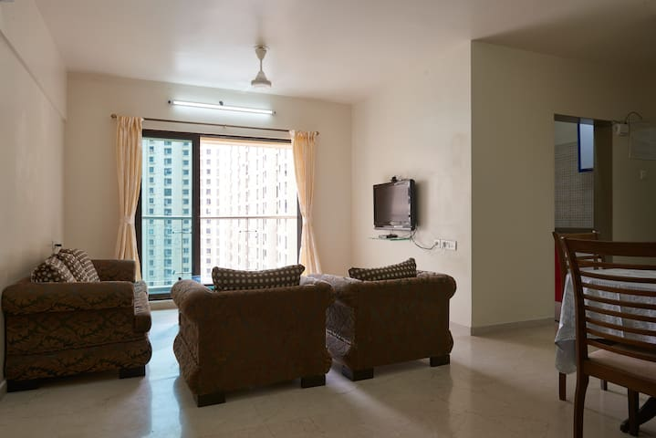 Dosti  3bhk furnished Mumbai-Thane - Thane - Apartamento