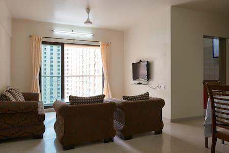 Dosti  3bhk furnished Mumbai-Thane - Thane