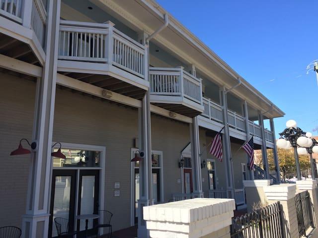 Unit Balconies