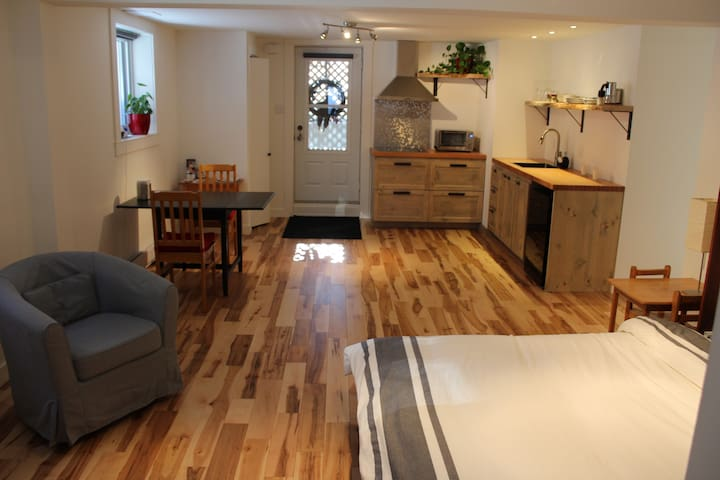 Logement 2 1/2 style loft