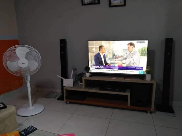 Résidence Djologanenon loin d'Abidjan mall