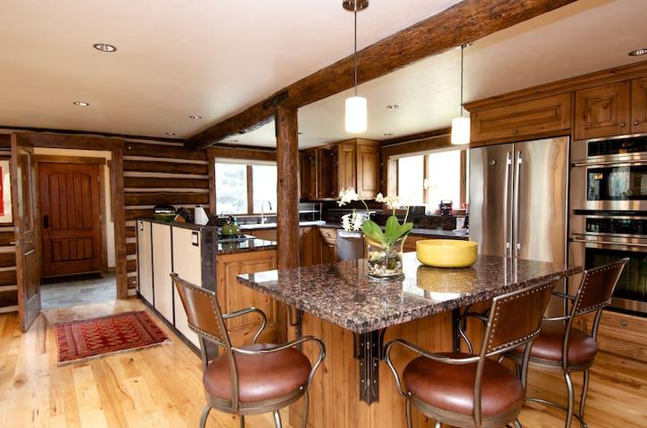 Picturesque Custom Log Cabin