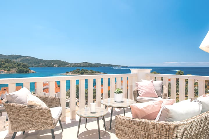 Villa ABBA, appartment III -Ante,  80m from sea