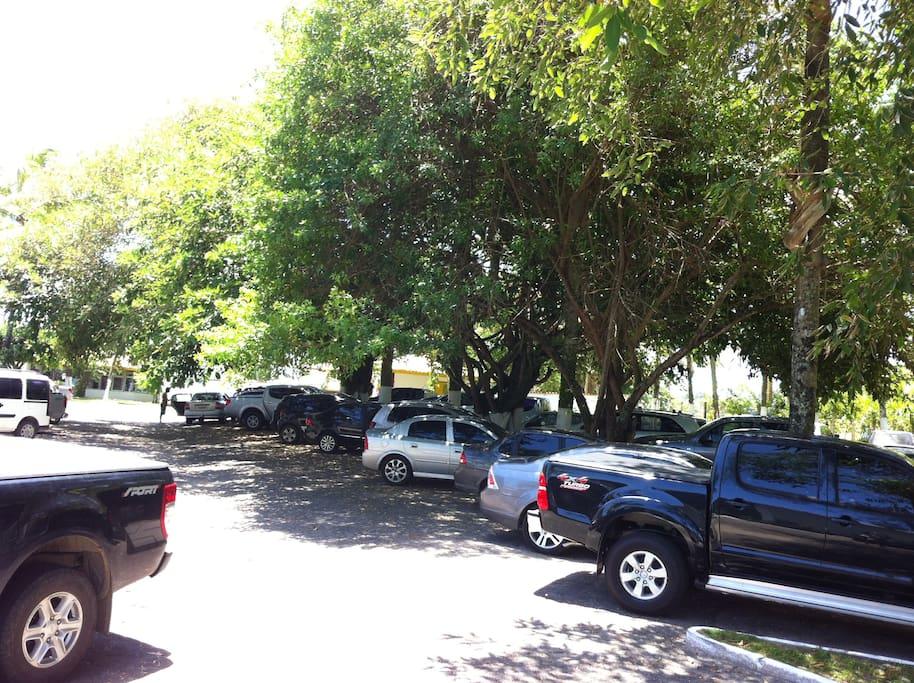 Estacionamento privativo