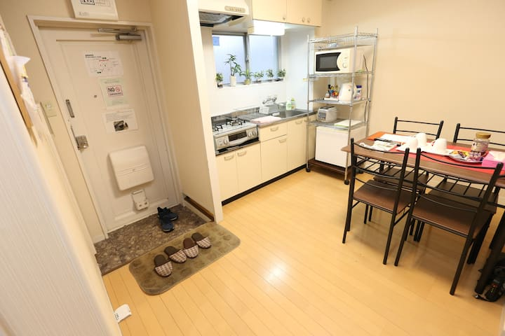 ③Nostalgic JPN apt w/ garden direct to Shibuya