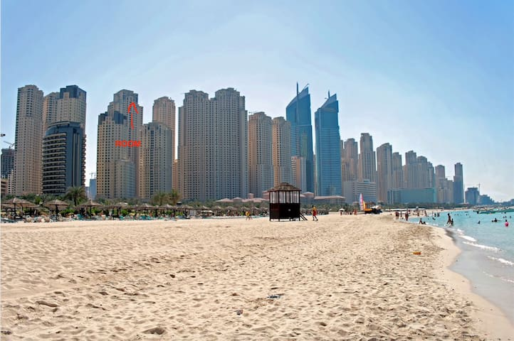 Small Cozy Room in JBR Dubai Marina on the beach