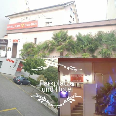 Olten City beim Bahnhof Budget Zimmer Hotel Jura