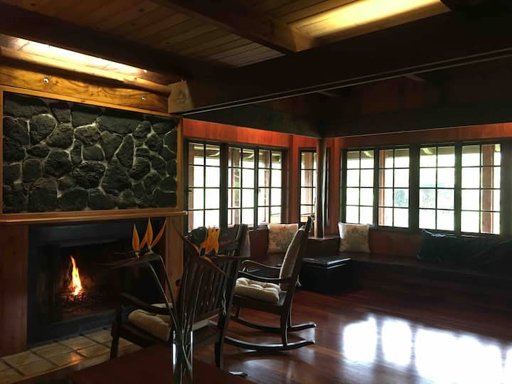 Volcano Ranch House