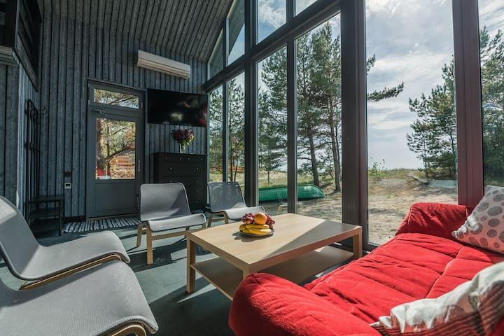 Beachfront cottage - Harmonija