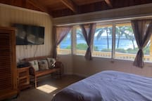 Third Bedroom with amazing Ocean Views and King Bed