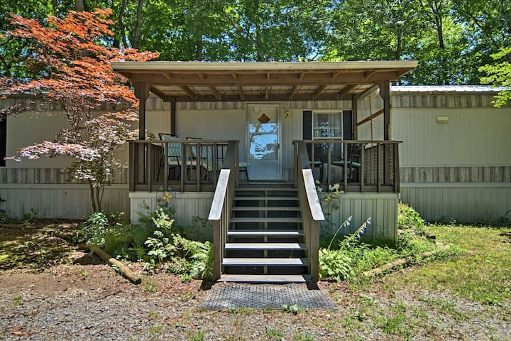 NEW! Heber Springs 2BR Home on Little Red River!