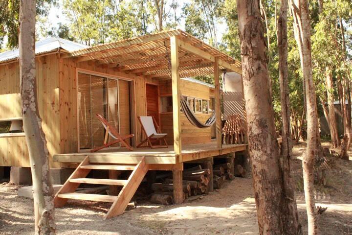 Cabaña en el bosque de La Pedrera