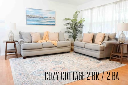 Cozy Beach Cottage walking distance to beach