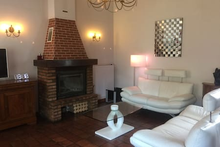 Chambre agréable 1 lit double - Anserville