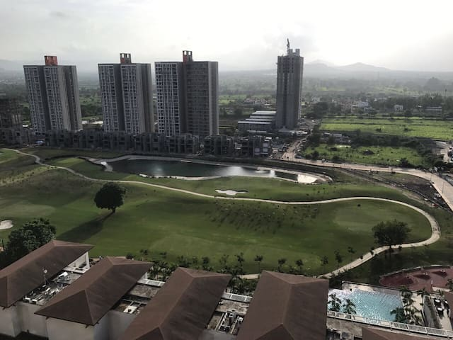 Golf Course Facing Beautiful 2BHK - Long Term Rent