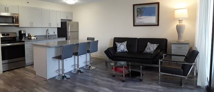 Newly Renovated Partial Ocean View Suite