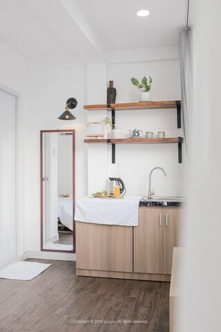 JUSTAY- 28 m2 studio in Bui Vien- Green&clean
