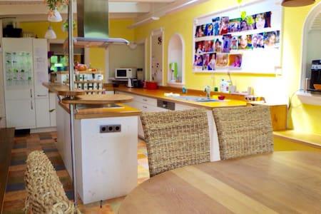 Kinderparadies +Garten, Pool, Sauna - Trier - Rumah