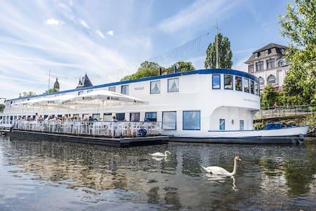 Mainod - charmantes Hotelschiff am Mainufer