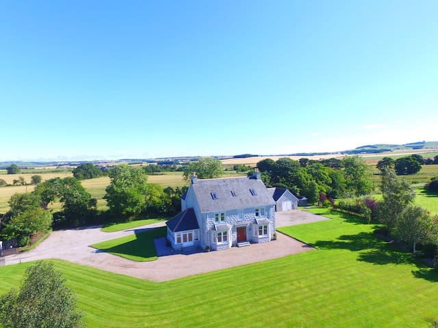 Large,beautiful country house 3 -    Inverurie - Haus