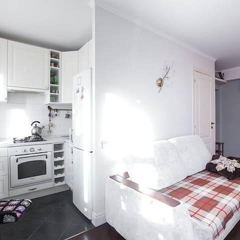 Уютная квартира на Полежаевской