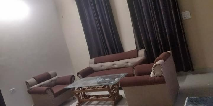 1BHK fully furnished flat 10 km from Nainital