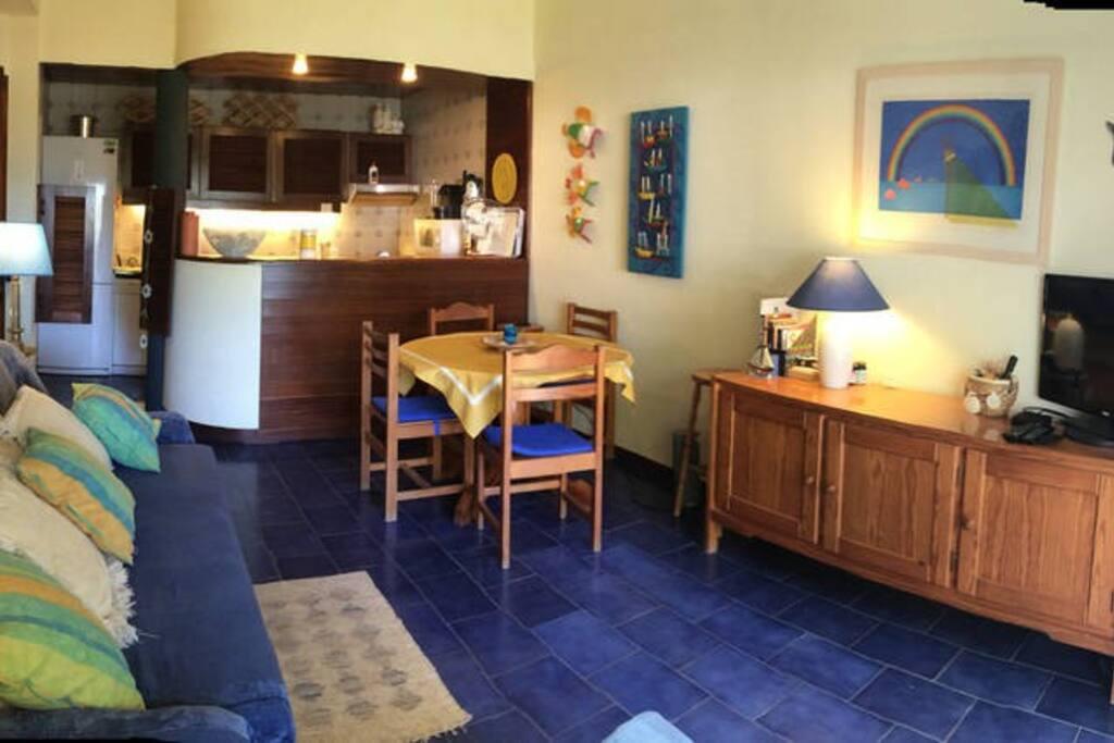 Sala de estar e jantar Salón Salle a manger Living&dining room
