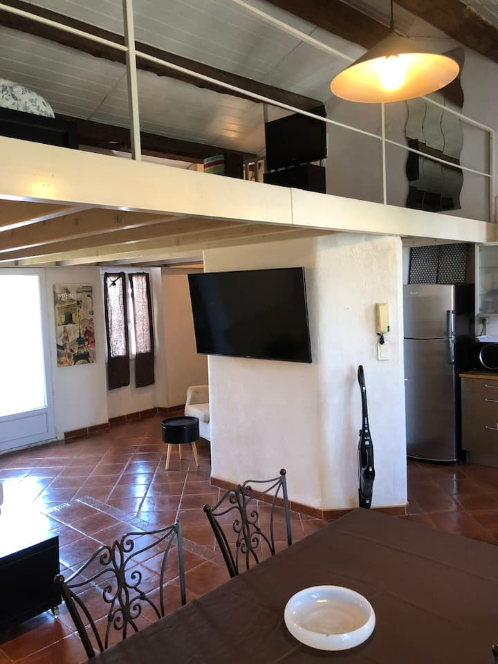 Appartement type loft à Mazargues 13009 Marseille