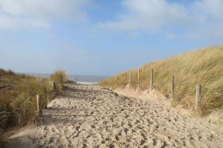 Freistehendes Sommerhaus in den Dünen am Strand - Egmond-Binnen