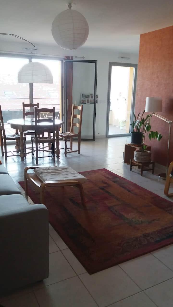 Appartement lumineux au coeur de Valence