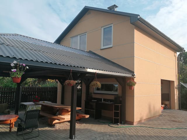 Detached house for guests near Riga and Jurmala.