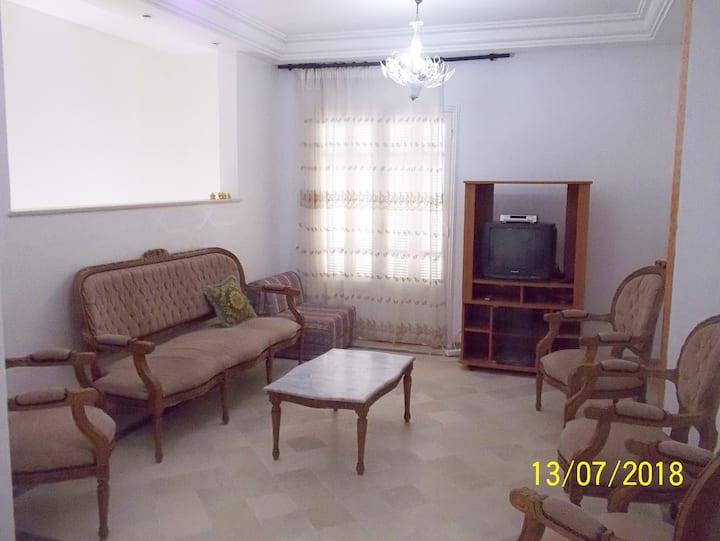 Appart.  à Bizerte,  point le plus nord en Afrique