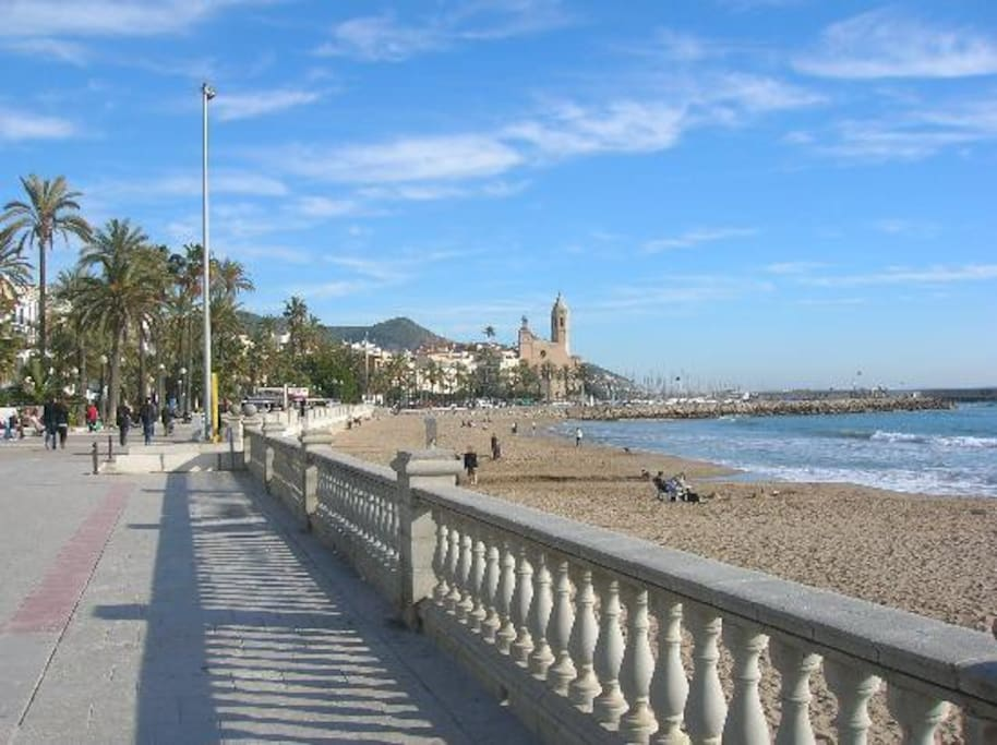 The Beaches in Sitges are amazing!