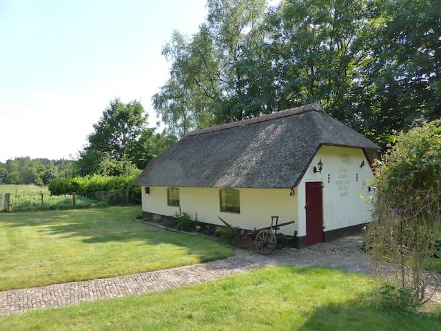 Idyllische ' herberg'  in bosrijke omgeving - Kootwijk - Houten huisje