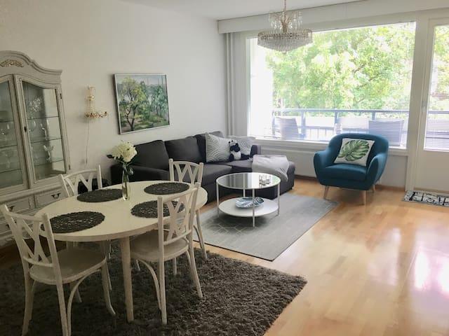 Spacious 2-bedroom apartment near the center