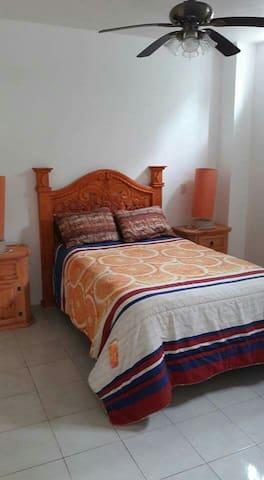 Bedroom #1 double bed
